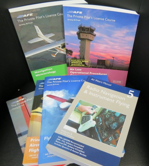 A Wide Range Of Books On Private Pilots Licence Flight Instructor Manual Radio Navigation And Instrument Flying Meteorology General Safety