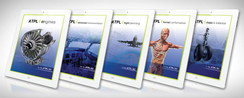 ATPL Theoretical Exam material delivered digital with iPad