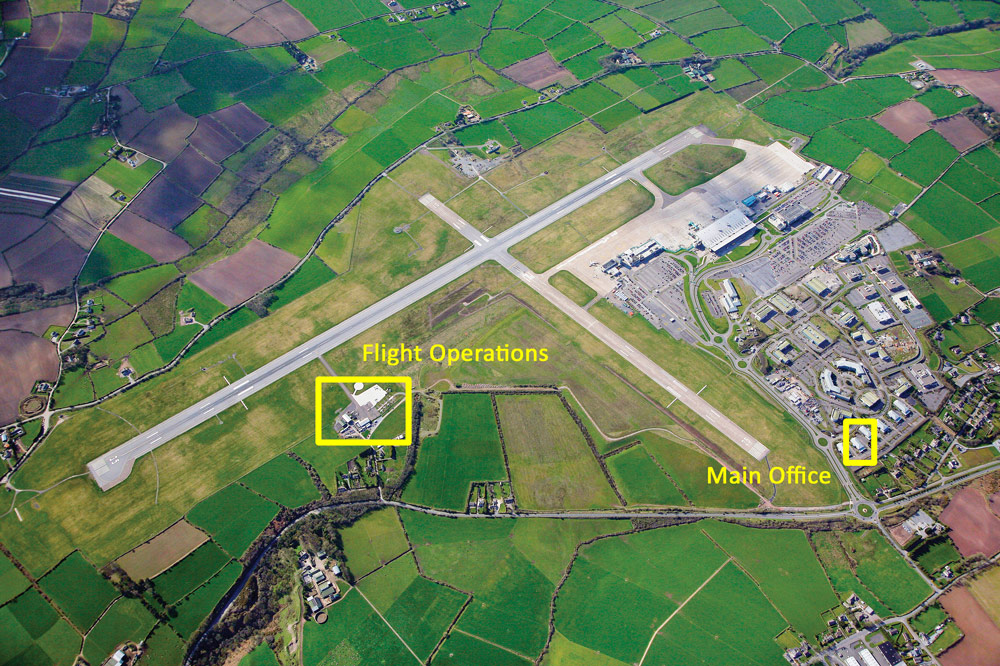 Atlantic Flight Training Academy locations in Cork Airport