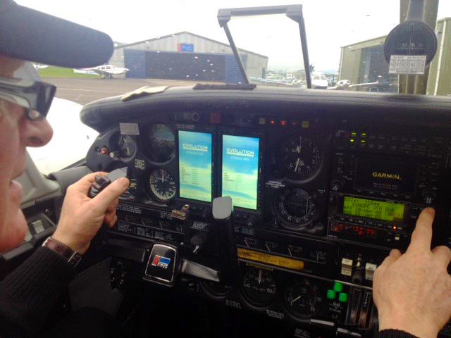 EI-CMT with new avionics - first start-up and some familiarisation