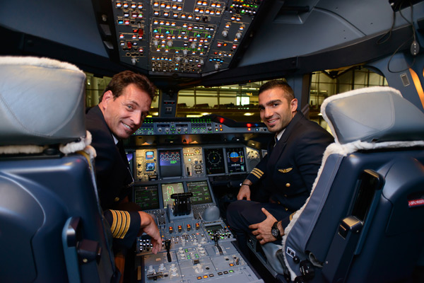 fully integrated airline first officer pilot training