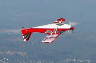 Inverted flight in the Super Decathlon