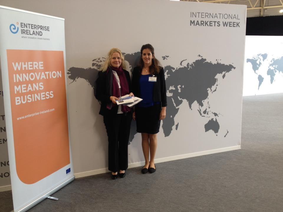 Cathy Mullan Sales & Marketing Executive with Rachel Kouyoymdjis Enterprise Ireland Qatar Office
