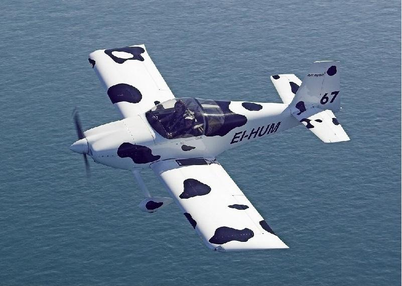 Vans Rv7 The Flying Cow Atlantic Flight Training Academy